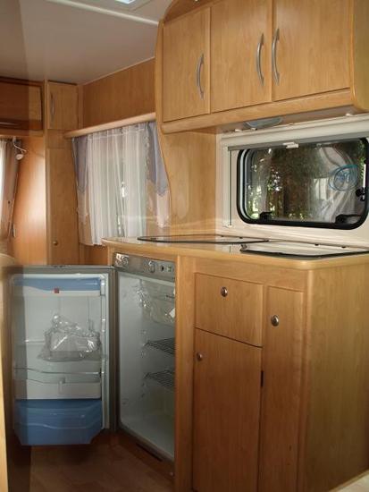 Karavan tiger 530 interiér